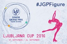 2016 Junior Grand Prix of Figure Skating in Ljubljana, Slovenia logo.