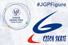 2016 Junior Grand Prix of Figure Skating in Ostrava, Czech Republic logo.