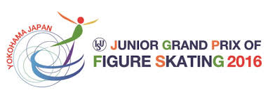 2016 Junior Grand Prix of Figure Skating in Yokohama, Japan logo.