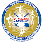 2017 Eastern Sectional Figure Skating Championships logo.