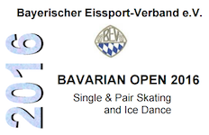 2016 Bavarian Open in Oberstdorf, Germany logo.