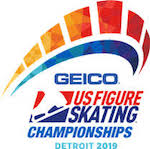2019 U.S. National Figure Skating Championships logo